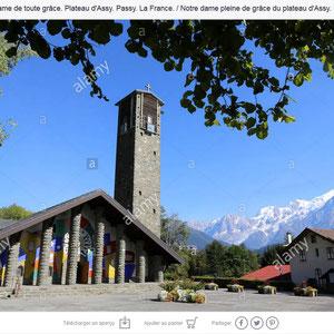Eglise Notre-Dame de Toute Grâce - Assy - Haute-Savoie