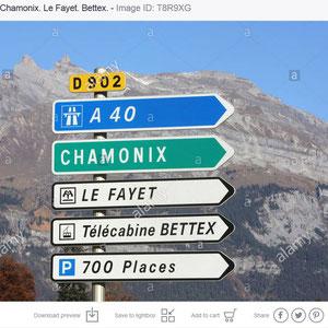 D902. A40. Chamonix. Le Fayet. Télécabine Bettex.
