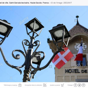 Hôtel de Ville. Saint-Gervais-les-Bains. Haute-Savoie.