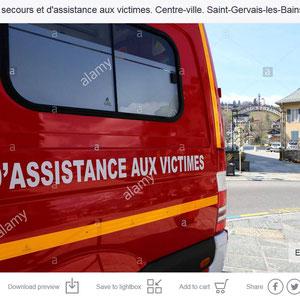 Assistance aux victimes. Coronavirus. Covid19. Saint-Gervais-les-Bains. Haute-Savoie.