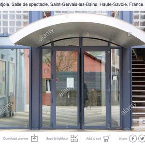 Théâtre Montjoie. Saint-Gervais-les-Bains. Haute-Savoie.
