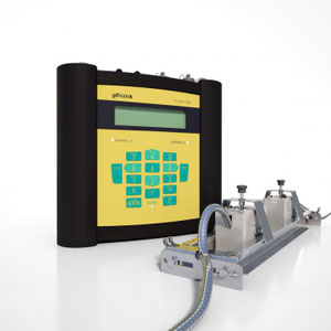 FLUXUS G608 The portable Flowmeter for Gases in hazardous areas