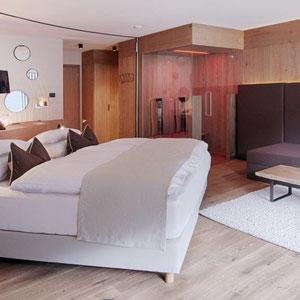 Sauna infrarouge dans chambre d'hotel