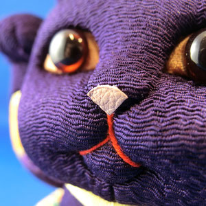 * purple - nose -