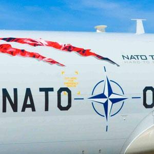 NATO AWACS Luftaufklärer - ABC Beschriftungen