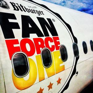 AIRBERLIN BITBURGER FAN FORCE ONE