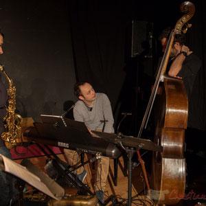Paul Robert, saxophones; Vincent Vilnet, piano; Aurélien Gody, contrebasse;  Carmen in Swing