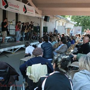 Tous les concerts sont accessibles à tous publics. Big Band Jazz du Collège Eléonore de Provence, Monségur, promotion 2011. Festival JAZZ360 2011, Cénac. 01/06/2011