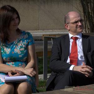 Anne-Laure Fabre-Nadler, Candidate aux élections départementales, Christian Soubie, Maire de Tresses