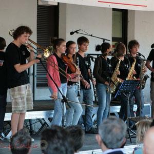 Solo de trombone à coulisse. Big Band Jazz du Collège Eléonore de Provence, Monségur, promotion 2011. Festival JAZZ360 2011, Cénac. 01/06/2011