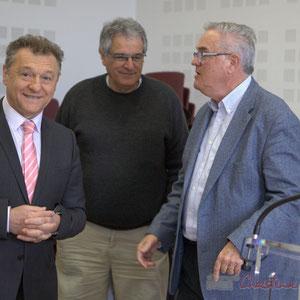 Jean-Jacques Paris, Pierre Gachet, Jean-Marie Darmian, Hôtel de ville de Créon, 13 mars 2015