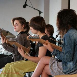 Guitares. Big Band Jazz du Collège Eléonore de Provence, Monségur, promotion 2011. Festival JAZZ360, Cénac. 01/06/2011