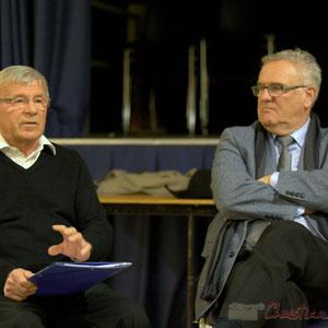 Yvon Bugaret, président du comité de restauration de l'église de Créon