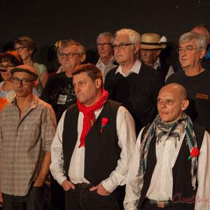 Echauffements et tour de piste pour les Choraleurs, Carmen in Swing, Targon