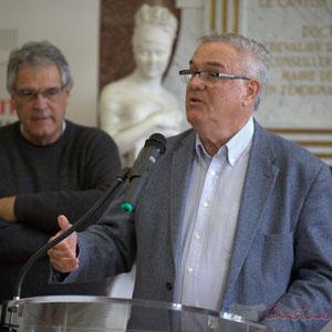 Pierre Gachet, Jean-Marie Darmian, Hôtel de ville de Créon, 13 mars 2015