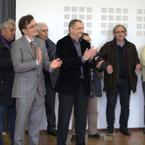 Inauguration de la RD 14 entre Camblanes-et-Meynac et Créon, le 13 mars 2015, Hôtel de ville de Créon
