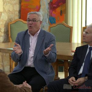 Jean-Marie Darmian, Vice-président du Conseil général, en charges du budget et des finances,