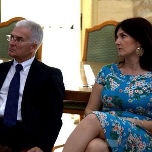 Gérard Poisbelaud et Anne-Laure Fabre-Nadler, candidats aux élections départementales