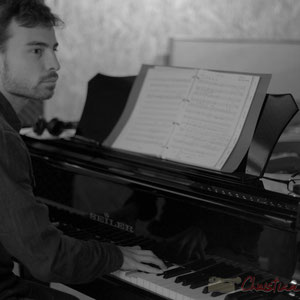Thomas Mayeras, piano