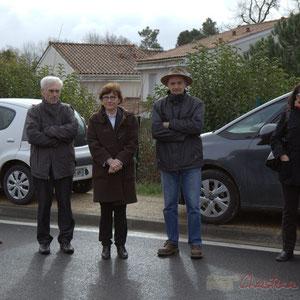 """Inauguration de la RD 14 entre Camblanes-et-Meynac et Créon, """"la Verrerie"""", le 13 mars 2015, Créon"""