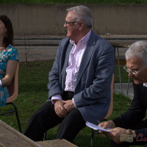 Anne-Laure Fabre-Nadler, Jean-Marie Darmian, Gérard Poisbelaud, candidats aux élections départementales 2015