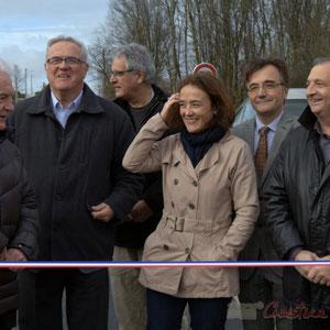 Philippe Madrelle, Jean-Marie Darmian, Pierre Gachet, Maire de Créon, Mathilde Feld, Lionel Faye, Jean-Philippe Guillemot, Maire de Camblanes-et-Meynac
