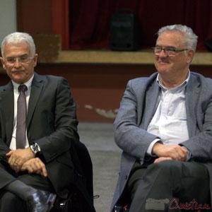 Gérard Poisbelaud, Adjoint au Maire de Tresses, Jean-Marie Darmian, Vice-président du Conseil général