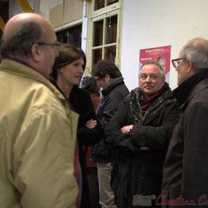 Gérald Goutanier, Adjoint au Maire de Croignon, Anne-Laure Fabre-Nadler, Patrick Bonnier, Adjoint au Maire de Croignon