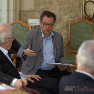 Jacques Desbordes, modérateur