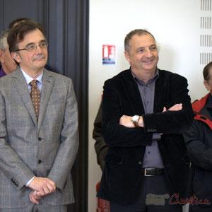 Lionel Faye, Jean-Philippe Guillemot, Hôtel de ville de Créon, 13 mars 2015