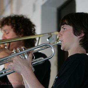 Trompette. Big Band Jazz du Collège Eléonore de Provence, Monségur, promotion 2011. Festival JAZZ360, Cénac. 01/06/2011