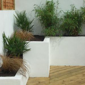 mixed level planting