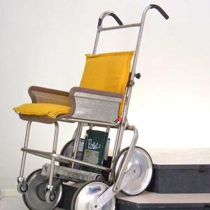 """"""" INVO1 """" carrello montascale per invalido , prototipo ."""