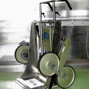Carrello saliscale TCS / Elviotrolley per le massime portate possibili ai saliscale a ruote