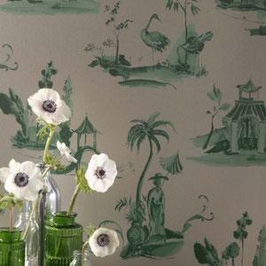toile chiose wallpaper