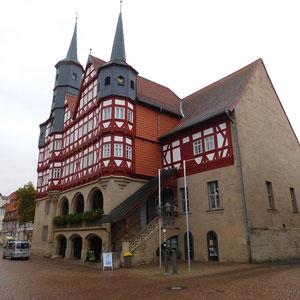 Das historische Rathaus (ca. 2000 Jahre)