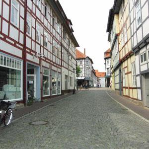 vollständig erhaltene historische Innenstadt