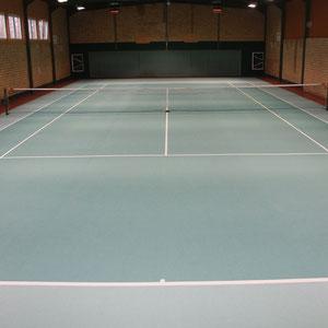 Die Tennishalle für Training + Freizeit
