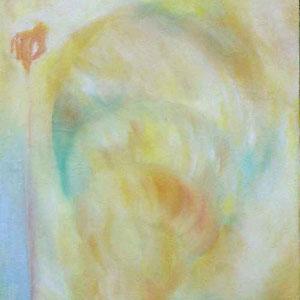 """""""Schneckentempo"""" I-III, Öl auf Leinwand, 2000, 40 x 65 cm cm. 230,00 €"""