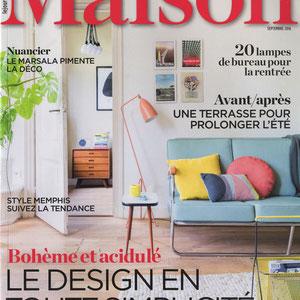 LE JOURNAL DE LA MAISON < SEPT 2016