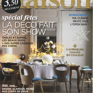 JOURNAL DE LA MAISON MAGAZINE - MAGNETIC TASTING BOARD - DECEMBER 2013
