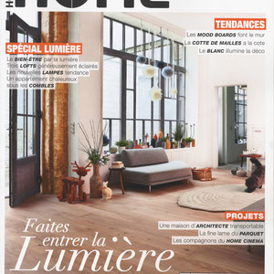 HOME MAGAZINE - LISERE COLLECTION < FEBRUARY 2014