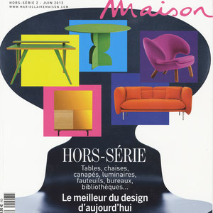 SPECIAL ISSUE - MARIE CLAIRE MAISON < COLLECTION LISERE - JUNE 2013