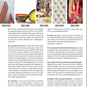 HOME FASHION NEWS < JULY 2013 - LISERE COLLECTION