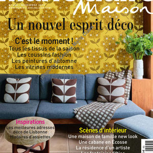 MARIE CLAIRE MAISON - SHELVES LISERE COLLECTION - NOVEMBER 2013