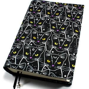 Buchhülle groß Mysterious Cats