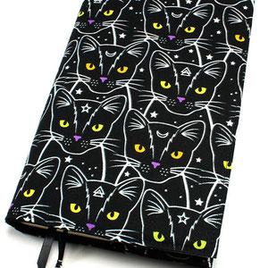 Buchhülle klein Mysterious Cats