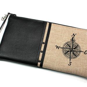 Federmäppchen Nauticus Kompass