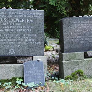Grabsteine Jüdischer Friedhof Weissensee, von den Nazis Ermordete. Foto: Helga Karl