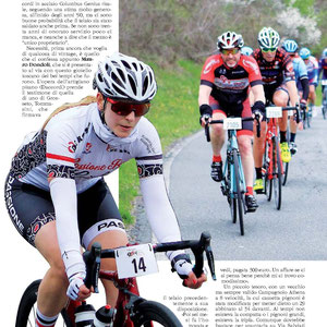 SK Pininfarina rosso vulcano - Priska Ehmann, Passione Bici Girls - millegrazie @biciclubitaliano for the great picture of our rider @ms_pris_man during the #gffirenze in the #giornale Cicloturismo